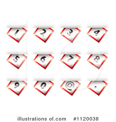 Numbers Clipart #1120038 by michaeltravers