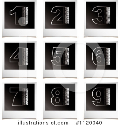 Numbers Clipart #1120040 by michaeltravers