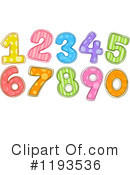 Numbers Clipart #1193536 by BNP Design Studio