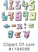 Numbers Clipart #1194098