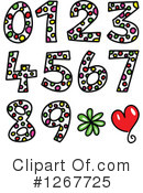 Royalty-Free (RF) Numbers Clipart Illustration #1267725