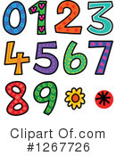 Royalty-Free (RF) Numbers Clipart Illustration #1267726