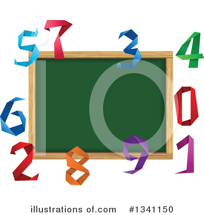 Royalty-Free (RF) Numbers Clipart Illustration by Vector Tradition SM - Stock Sample #1341150