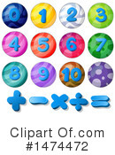 Numbers Clipart #1474472 by Graphics RF
