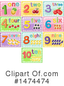Numbers Clipart #1474474 by Graphics RF