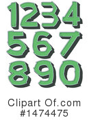Numbers Clipart #1474475 by Graphics RF