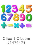Numbers Clipart #1474479 by Graphics RF