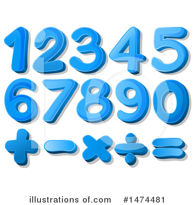 Number Clipart #1474481 by Graphics RF