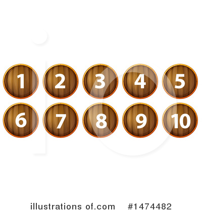 Number Clipart #1474482 by Graphics RF