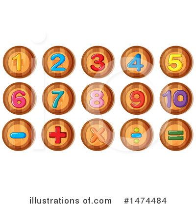 Number Clipart #1474484 by Graphics RF