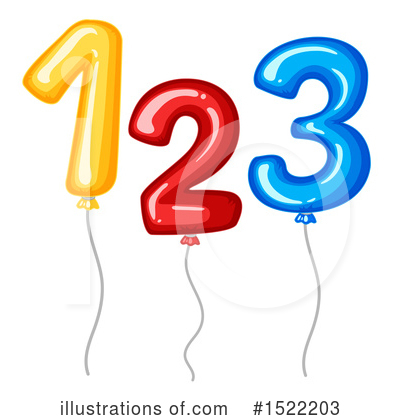 Number Clipart #1522203 by Graphics RF