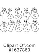 Numbers Clipart #1637860 by visekart