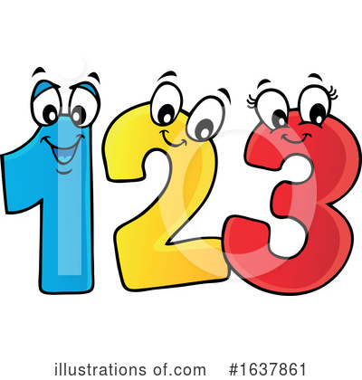 Number Clipart #1637861 by visekart