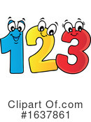 Numbers Clipart #1637861 by visekart