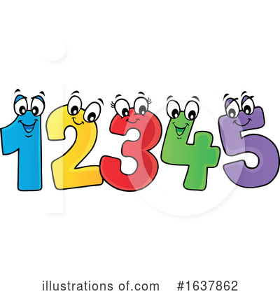 Number Clipart #1637862 by visekart