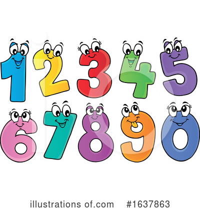 Number Clipart #1637863 by visekart