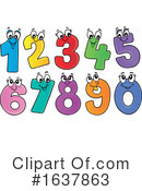 Numbers Clipart #1637863 by visekart