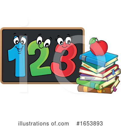 Number Clipart #1653893 by visekart