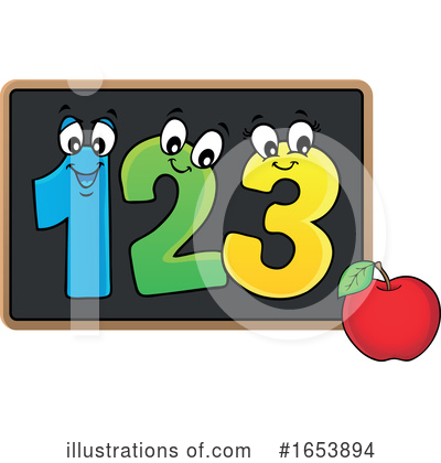 Number Clipart #1653894 by visekart