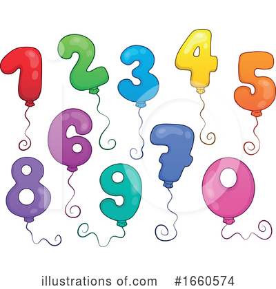 Number Clipart #1660574 by visekart