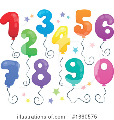 Number Clipart #1660575 by visekart