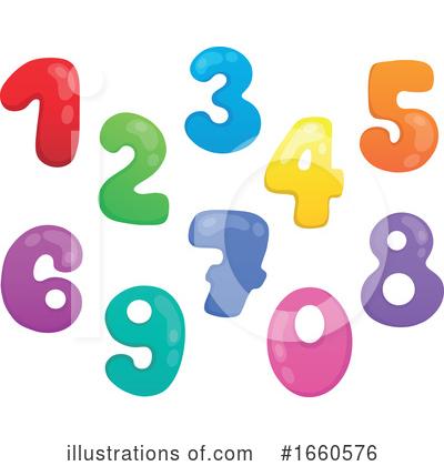 Number Clipart #1660576 by visekart