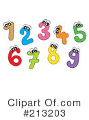 Numbers Clipart #213203 by visekart