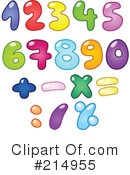 Numbers Clipart #214955