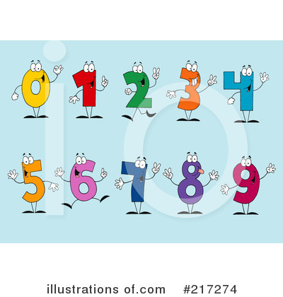 Five Clipart #217274 by Hit Toon