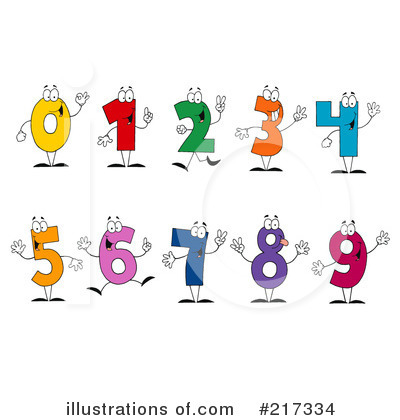 Five Clipart #217334 by Hit Toon