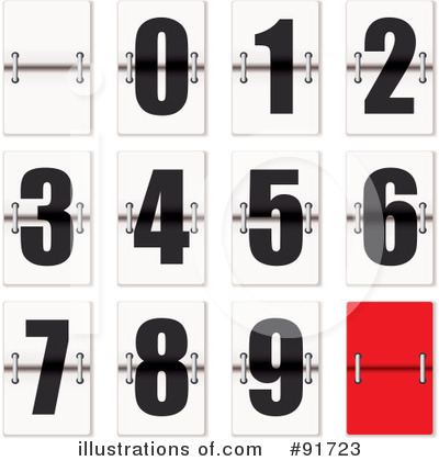 Numbers Clipart #91723 by michaeltravers