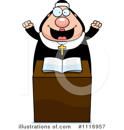 Nun Clipart #1116957 by Cory Thoman