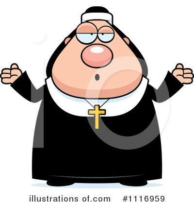 Nun Clipart #1116959 by Cory Thoman