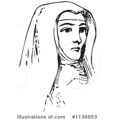 Nun Clipart #1136053 by Picsburg