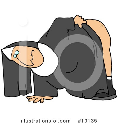 Nun Clipart #19135 by djart