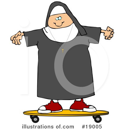 Nun Clipart #19005 by djart
