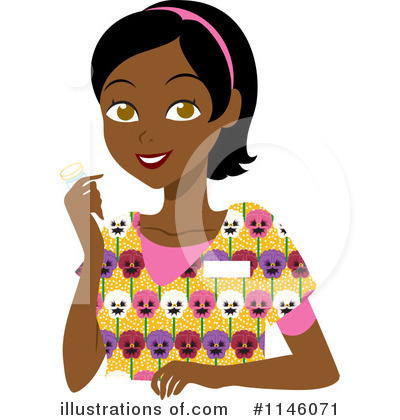 Black Woman Clipart #1146071 by Rosie Piter