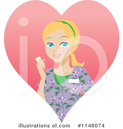 Rf nurse clipart illustration by rosie piter stock sle 1146074