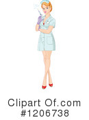 Nurse Clipart #1206738 by Pushkin