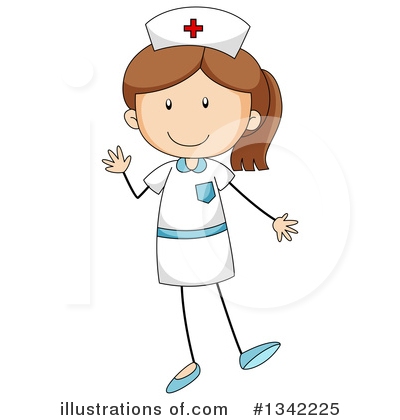 Royalty-Free (RF) Nurse Clipart Illustration by Graphics RF - Stock Sample #1342225