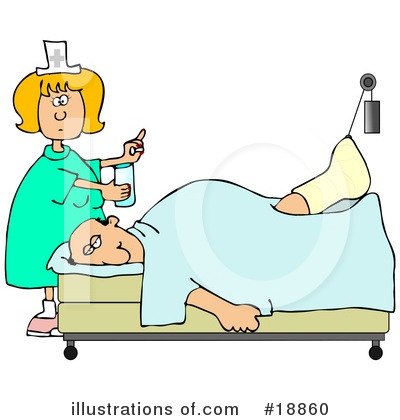 Injured Clipart #18860 by djart