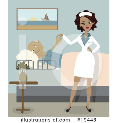 Royalty-Free (RF) Nurse Clipart Illustration by Vitmary Rodriguez - Stock Sample #19448