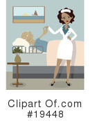 Royalty-Free (RF) nurse Clipart Illustration #19448