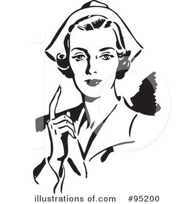Rf nurse clipart illustration by bestvector stock sle 95200