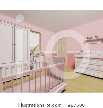 Crib Clipart #27586 by KJ Pargeter
