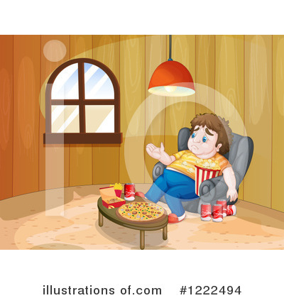 Pizza Clipart #1222494 by Graphics RF