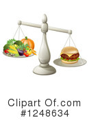 Royalty-Free (RF) Nutrition Clipart Illustration #1248634