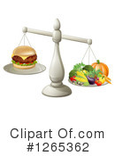 Royalty-Free (RF) Nutrition Clipart Illustration #1265362