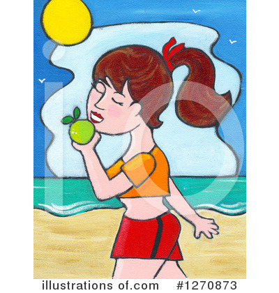 Beach Clipart #1270873 by Maria Bell