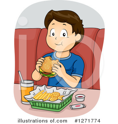 Fast Food Clipart #1271774 by BNP Design Studio